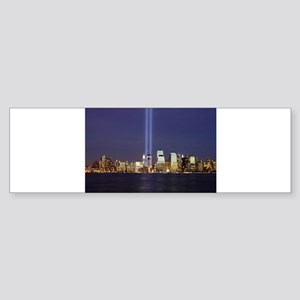 9 11 Tribute of Light Sticker (Bumper)