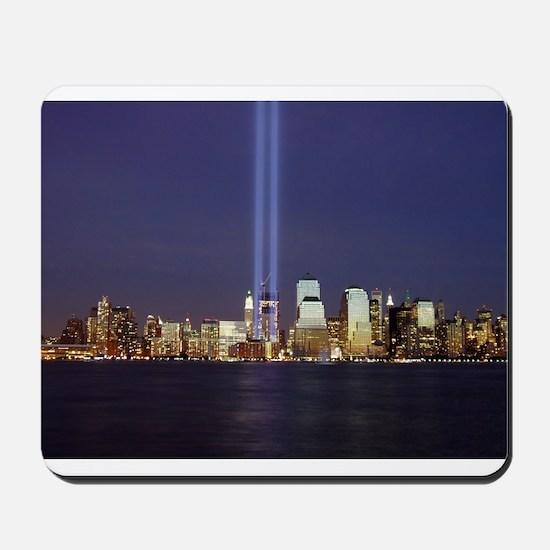 9 11 Tribute of Light Mousepad