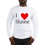 Support Slaine Long Sleeve T-Shirt