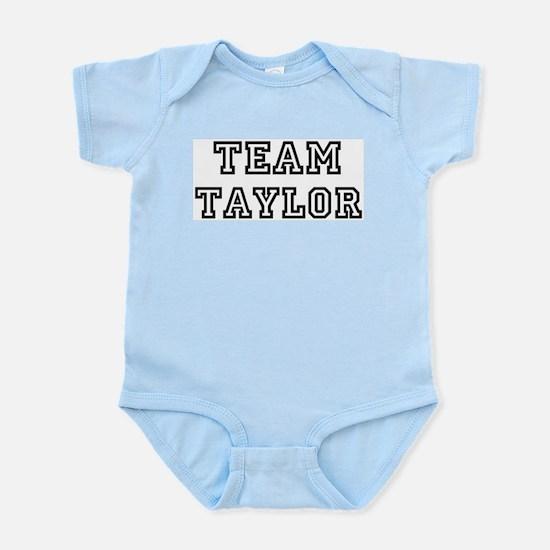 Team Taylor Infant Creeper