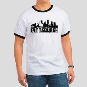 Pittsburgh Skyline Ringer T