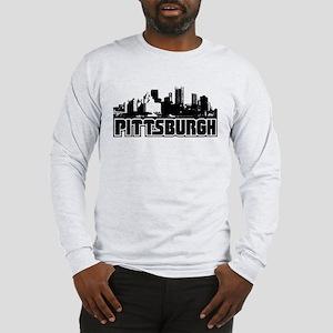 Pittsburgh Skyline Long Sleeve T-Shirt