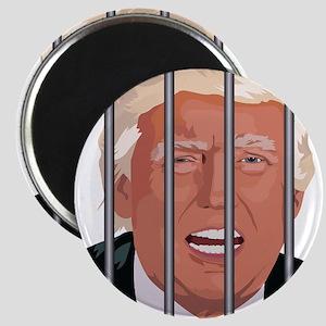 Trump behind bars Magnets