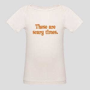 Scary Times Halloween Organic Baby T-Shirt