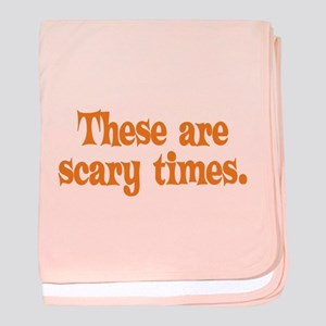Scary Times Halloween baby blanket