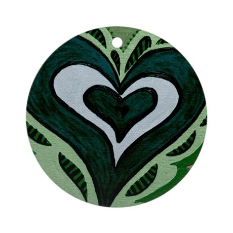 Tuesdays Forest Green Ornament (Round)