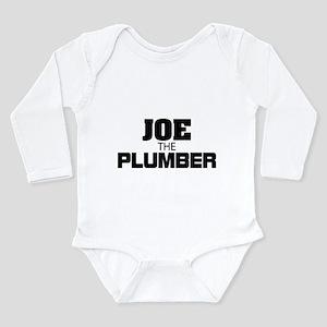 Joe the Plumber Long Sleeve Infant Bodysuit