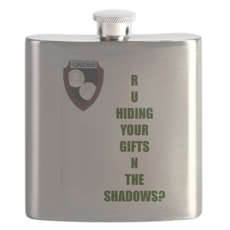 hiding your gifts flask by cccrewmindsets