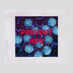 Prevent HPV Throw Blanket