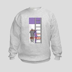 Film Movie Geek Kids Sweatshirt