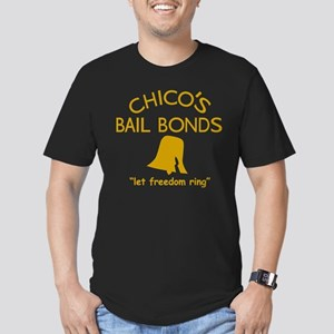 Chico's Bail Bonds Men's Fitted T-Shirt (dark)