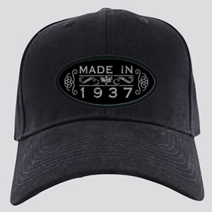 Made In 1937 Black Cap with Patch