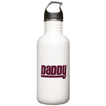 Daddy - Red Stainless Water Bottle 1.0L
