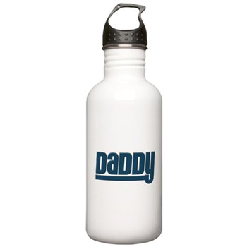 Daddy - Blue Stainless Water Bottle 1.0L