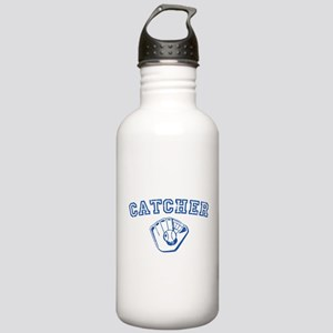 Catcher - Blue Stainless Water Bottle 1.0L