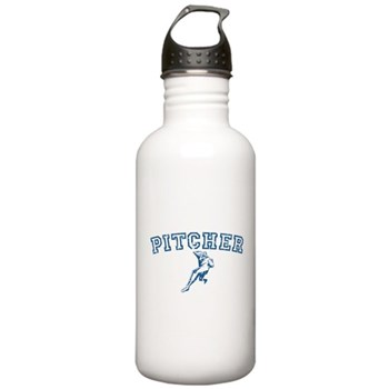 Pitcher - Blue Stainless Water Bottle 1.0L