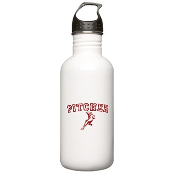 Pitcher - Red Stainless Water Bottle 1.0L