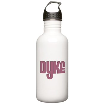 Pink Dyke Stainless Water Bottle 1.0L