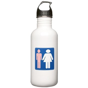 FAG HAG Sign Stainless Water Bottle 1.0L