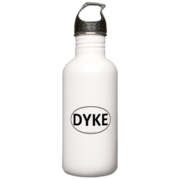DYKE Euro Oval Stainless Water Bottle 1.0L