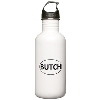 BUTCH Euro Oval Stainless Water Bottle 1.0L