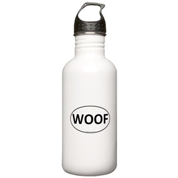 WOOF Euro Oval Stainless Water Bottle 1.0L