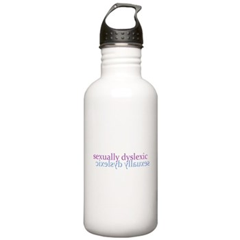 Sexually Dyslexic Stainless Water Bottle 1.0L
