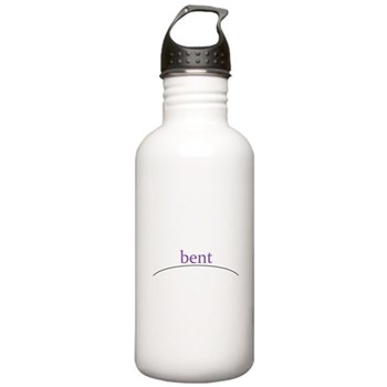 bent Stainless Water Bottle 1.0L