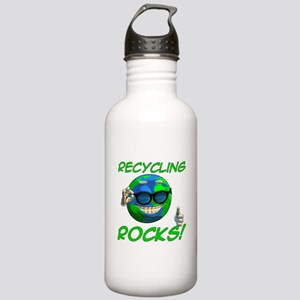 Recycling Rocks! Stainless Water Bottle 1.0L