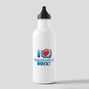 I Heart Schoolhouse Rock Stainless Water Bottle 1.