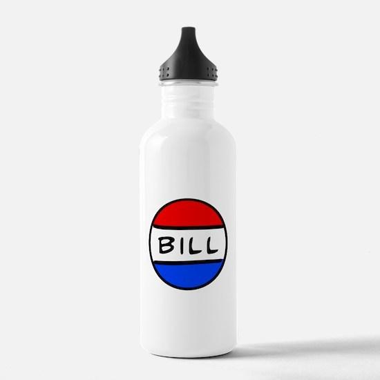 Bill Button - Schoolhouse Rock! Sports Water Bottle