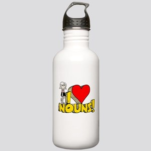 I Heart Nouns - Schoolhouse Rock! Stainless Water