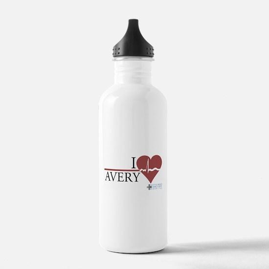 I Heart Avery - Grey's Anatomy Water Bottle