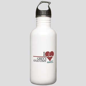 I Heart Grey's Anatomy Stainless Water Bottle 1.0L