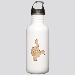 Hand - Loser Fingers Stainless Water Bottle 1.0L