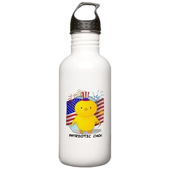 Patriotic Chick Stainless Water Bottle 1.0L