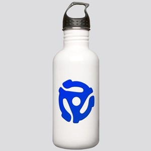 Blue 45 RPM Adapter Stainless Water Bottle 1.0L