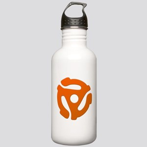 Orange 45 RPM Adapter Stainless Water Bottle 1.0L
