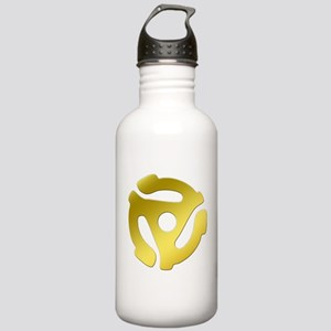 Gold 45 RPM Adapter Stainless Water Bottle 1.0L