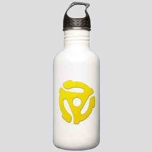 Yellow 45 RPM Adapter Stainless Water Bottle 1.0L