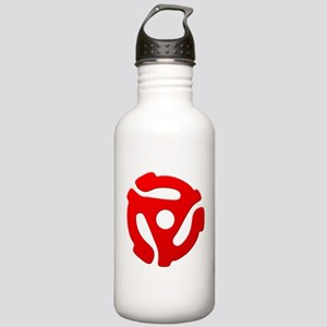 Red 45 RPM Adapter Stainless Water Bottle 1.0L