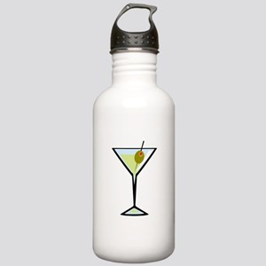 Dirty Martini Stainless Water Bottle 1.0L
