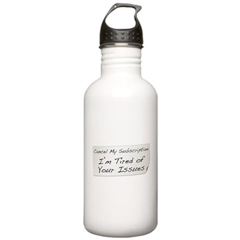 Cancel My Subscription Stainless Water Bottle 1.0L