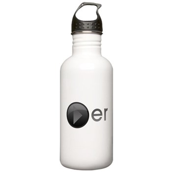 Player Stainless Water Bottle 1.0L