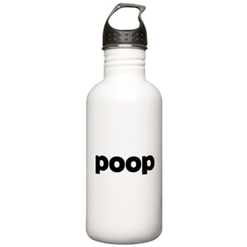 Poop Stainless Water Bottle 1.0L
