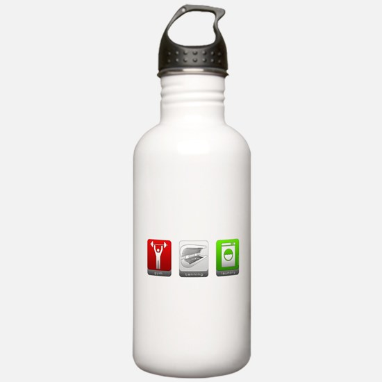GTL - Gym, Tanning, Laundry Water Bottle