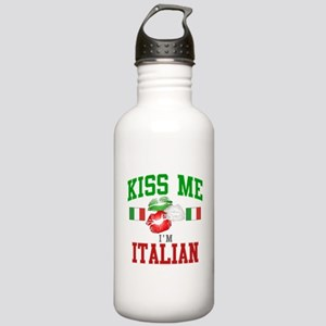 Kiss Me I'm Italian Stainless Water Bottle 1.0L