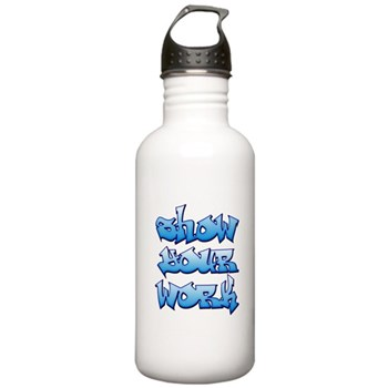 Show Your Work Graffiti Stainless Water Bottle 1.0