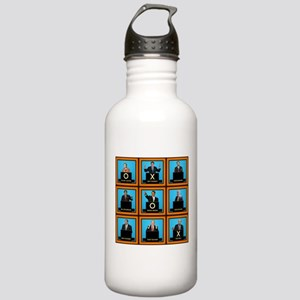 Presidential Squares Stainless Water Bottle 1.0L