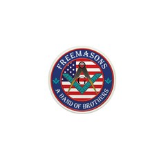 Freemasons. A Band of Brothers Mini Button (10 pac